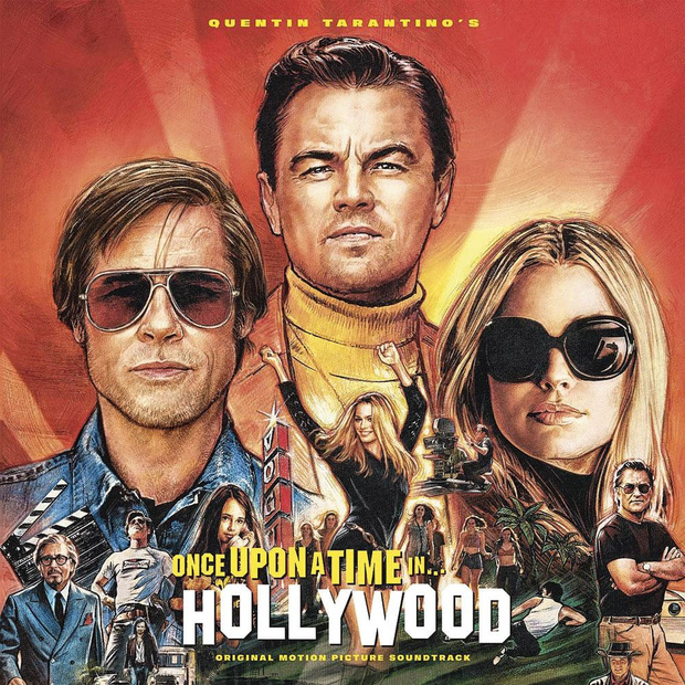 5 CD de Once Upon a Time... in Hollywood
