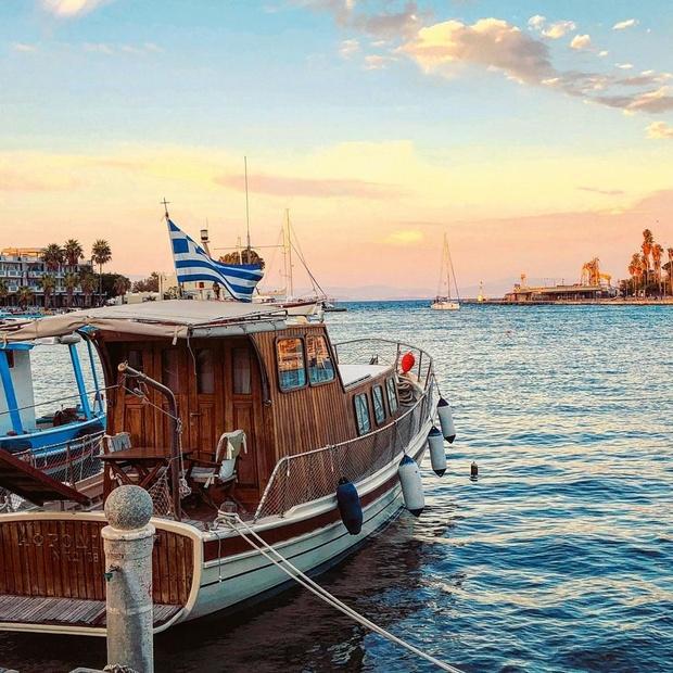 En images: un trip sportif pour découvrir l'île grecque de Kos