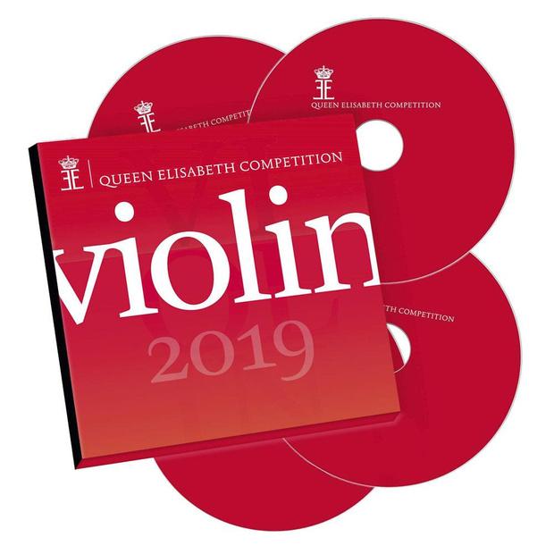 Coffret 4 CD du Concours Reine Elisabeth de Violon 2019