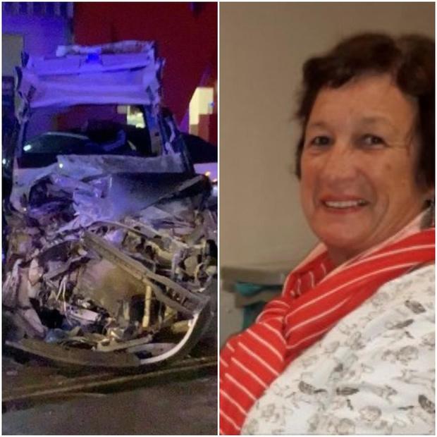Bestuurder (29) was dronken en reed te snel bij crash waarbij Viviane (66) stierf