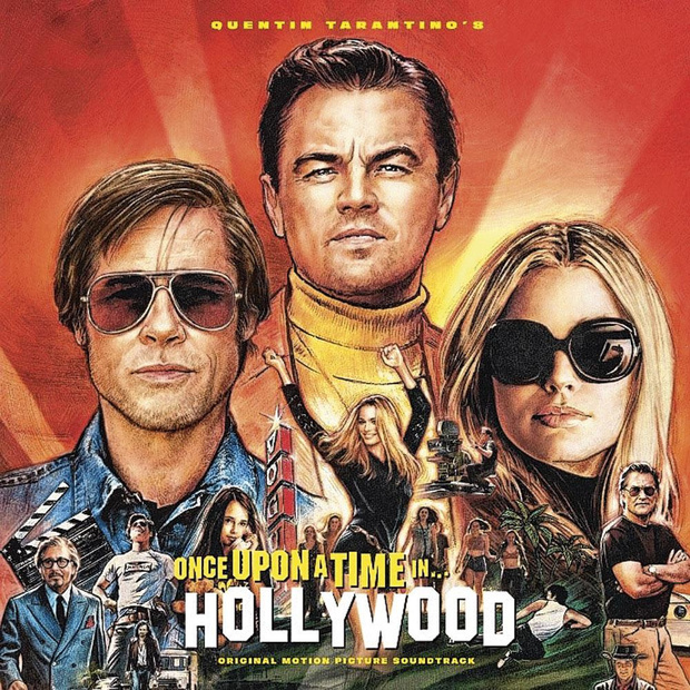 5x cd Once upon a Time... in Hollywood