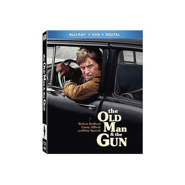 5x blu-ray The Old Man and the Gun