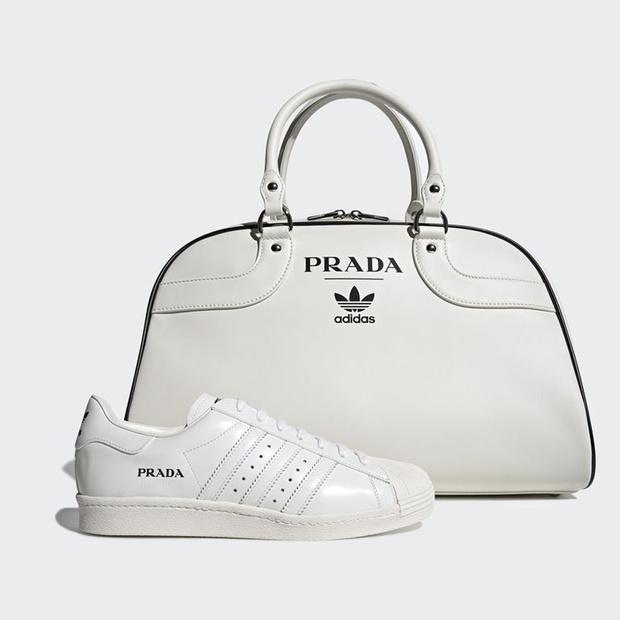 Samenwerking Prada en Adidas bestaat (voorlopig) slechts uit sneakers en bowlingtas