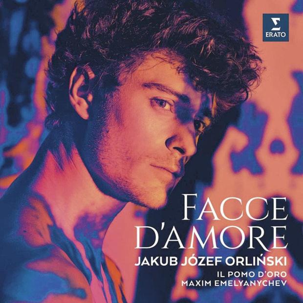 CD's Facce d'amore van Jakub Józef Orlinski