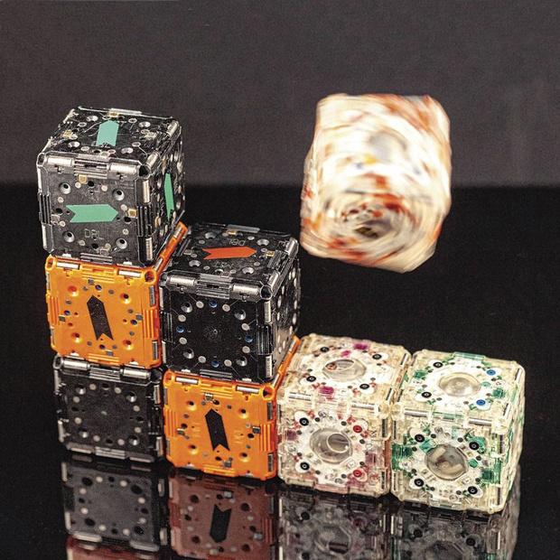 Danse avec les cubes