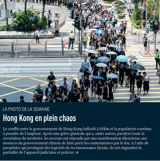Hong Kong en plein chaos