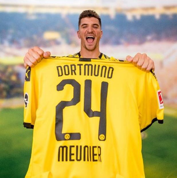 Thomas Meunier signe pour 4 ans à Dortmund (officiel)