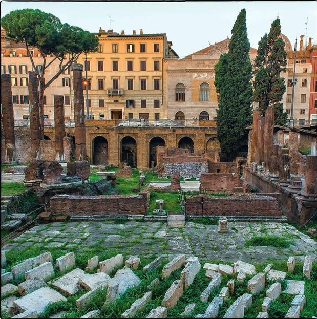 """Rome: on pourra se promener dans l'""""Area Sacra"""" en 2022"""