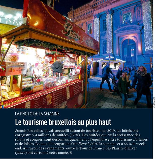Le tourisme bruxellois au plus haut