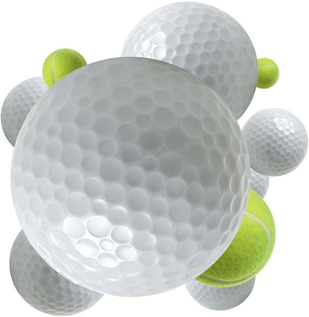 Davantage de golf, moins de tennis