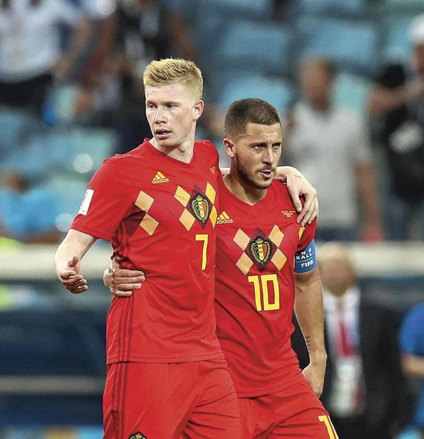 EURO 2021: Eden Hazard et Kevin De Bruyne peut-être pas rétablis pour le match contre l'Italie