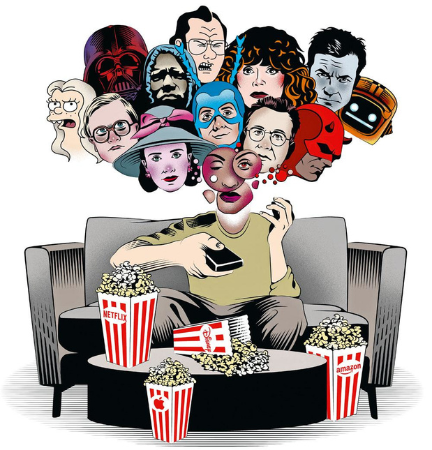 Binge streaming : les géants du divertissement à la conquête des abonnés
