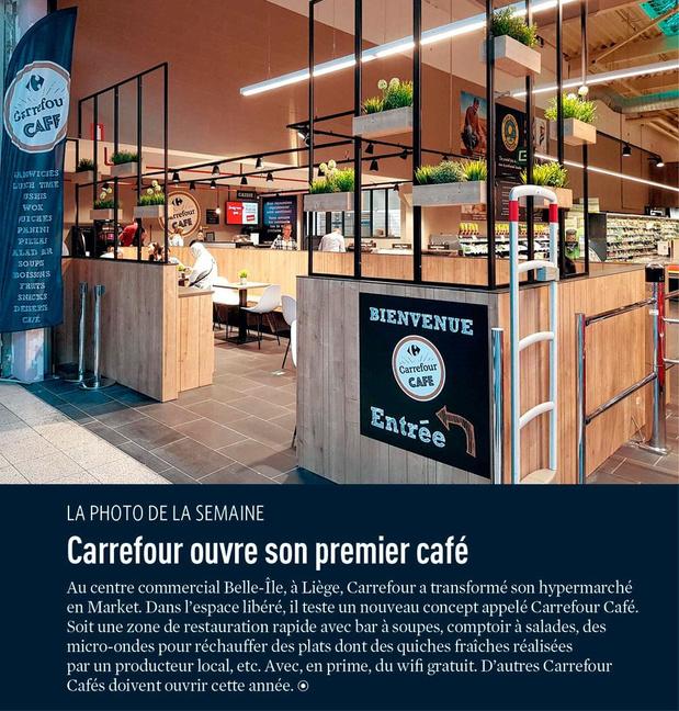 Carrefour ouvre son premier café