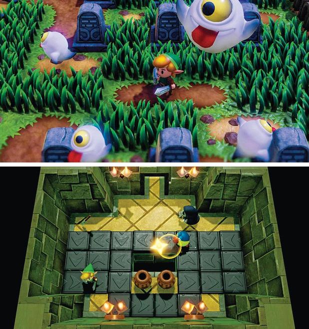 Link's Awakening, la science des rêves