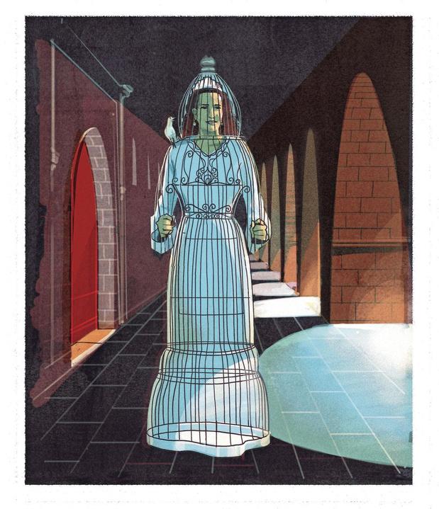Leur vie est un feuilleton: Lalla Salma, princesse fantôme du Maroc