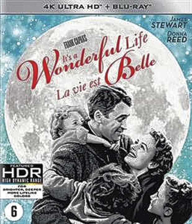 5x 4K Ultra HD It's a Wonderful Life