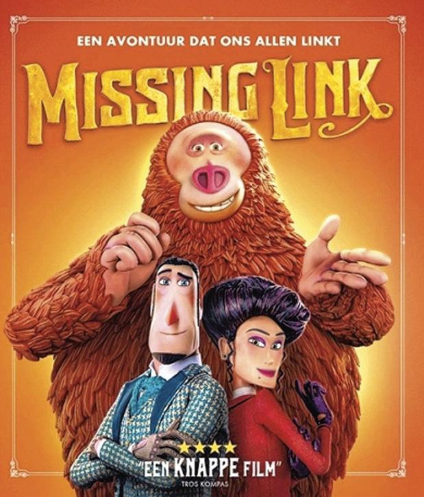 5x blu-ray Missing Link