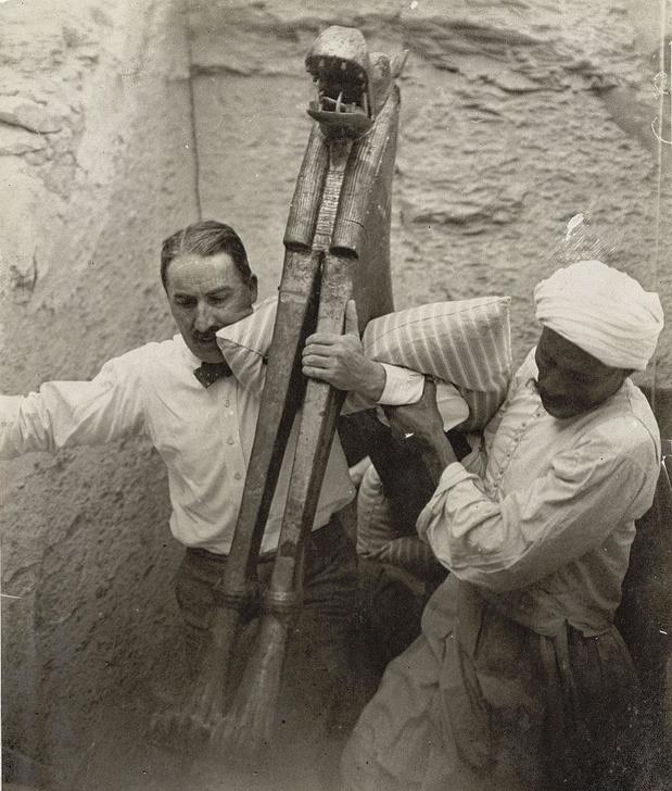 Toutânkhamon dans des Guillemins pharaoniques