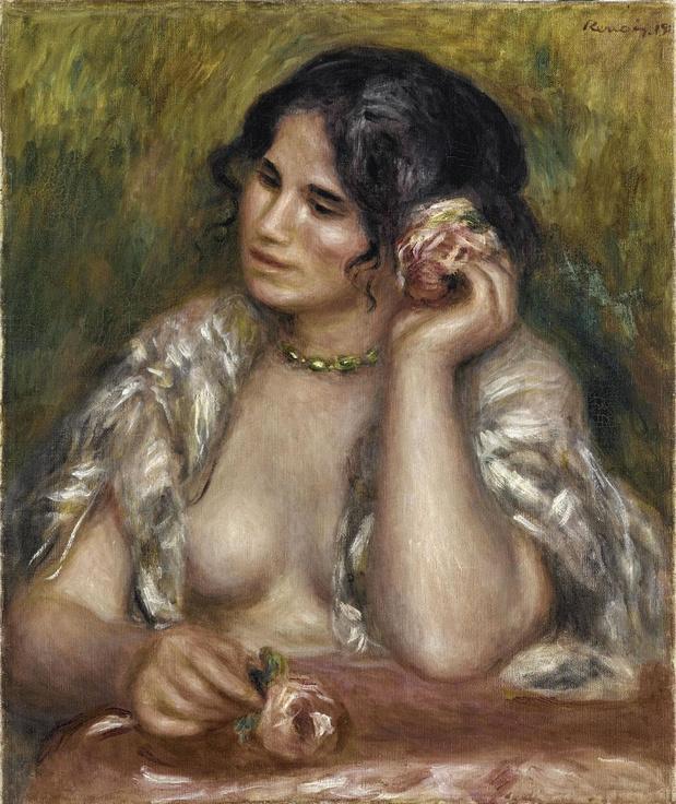 Renoir en zijn muze