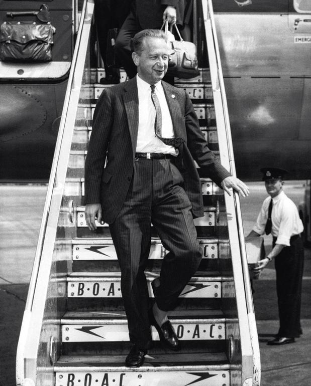 Le 18 septembre 1961, le jour du mystérieux envol de Monsieur H., Dag Hammarskjöld