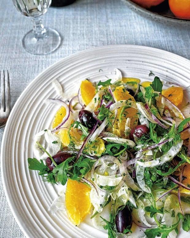Recette: Salade sicilienne au fenouil et à l'orange