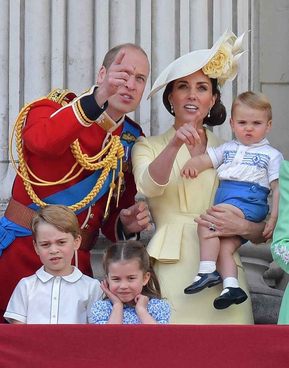 """""""Trooping the colour"""" en images"""