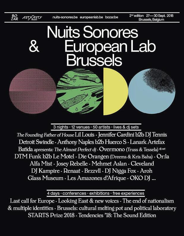 5x2 places pour Les Nuits Sonores