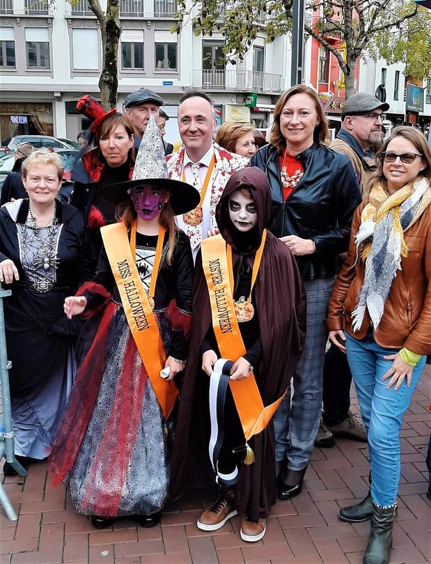 Tweeling Marie en Mathis zijn Miss en Mister Halloween Blankenberge