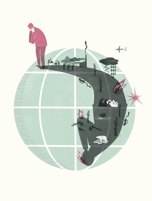 Ecoanxiété: comment la crise écologique influence notre santé mentale