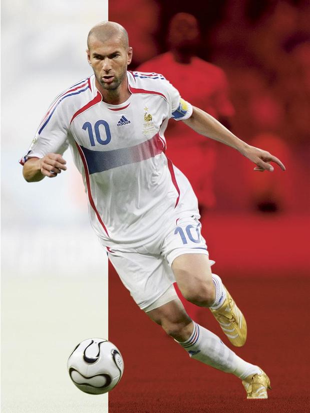 Zinédine Zidane - La perle maghrébine du football français