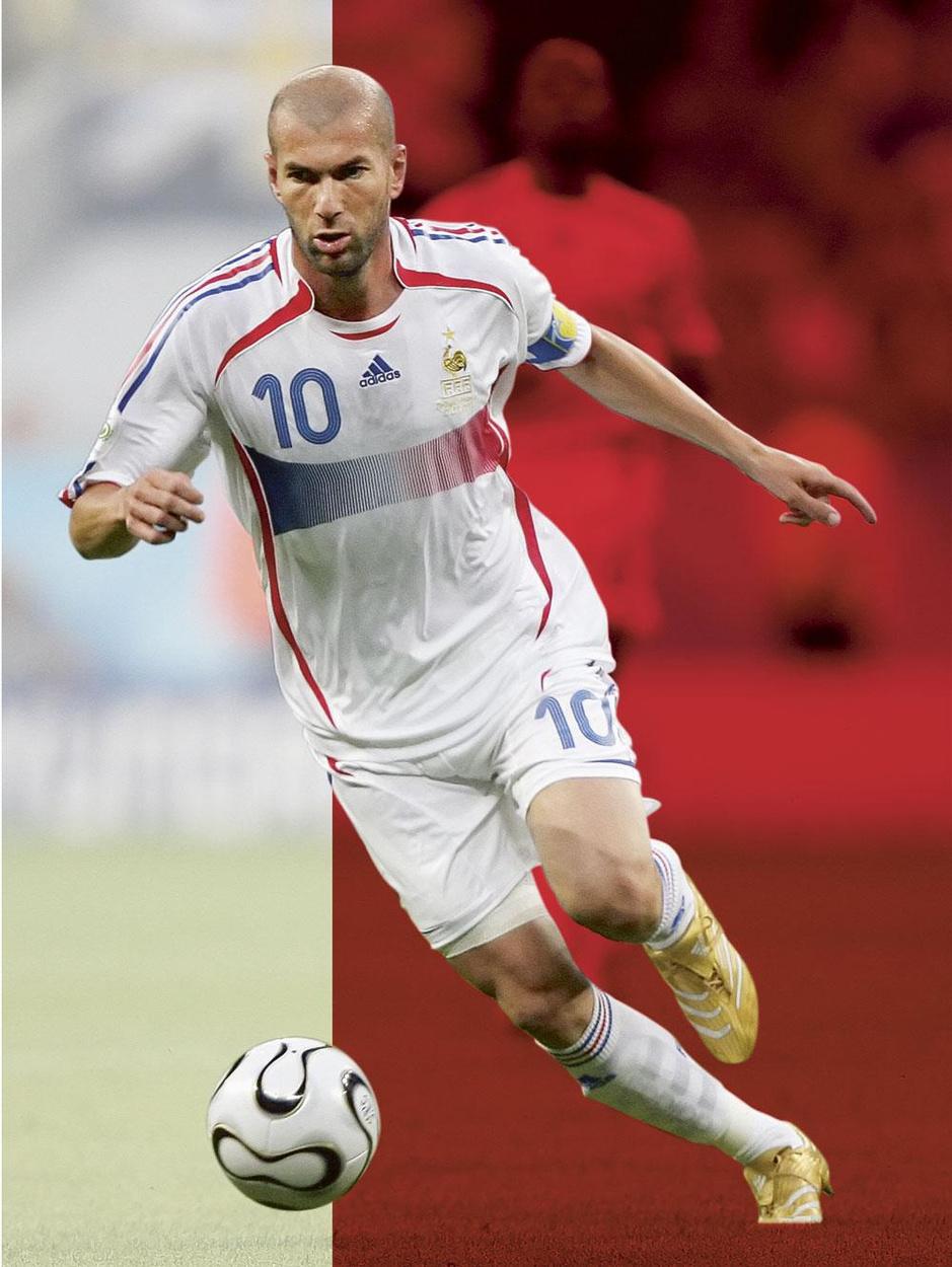 Hoe Zinédine Zidane de Maghrebijnse parel van het Franse voetbal werd
