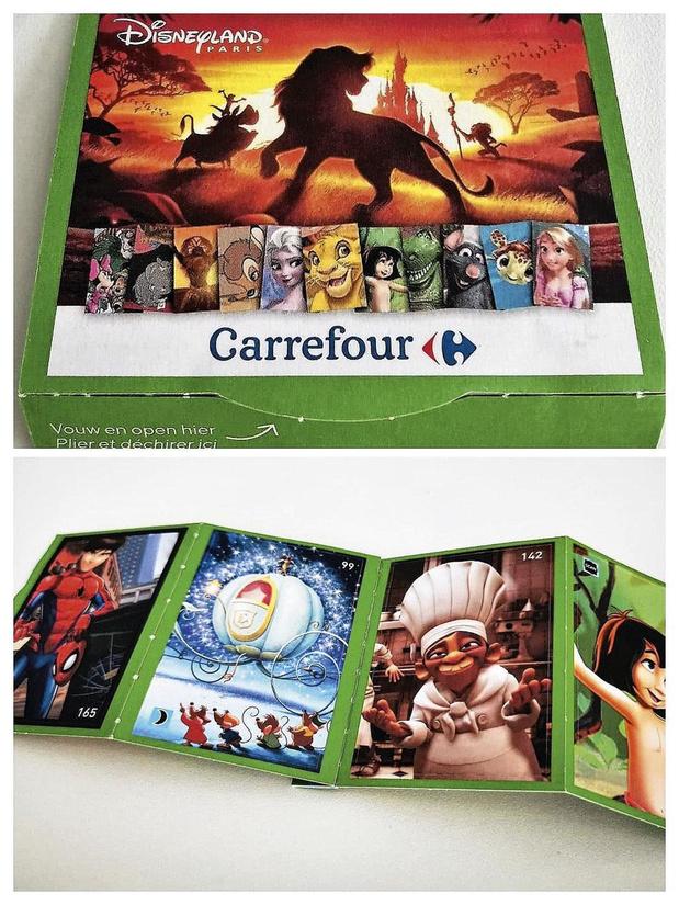 Carrefour augmente ses ventes avec l'album collector Disney