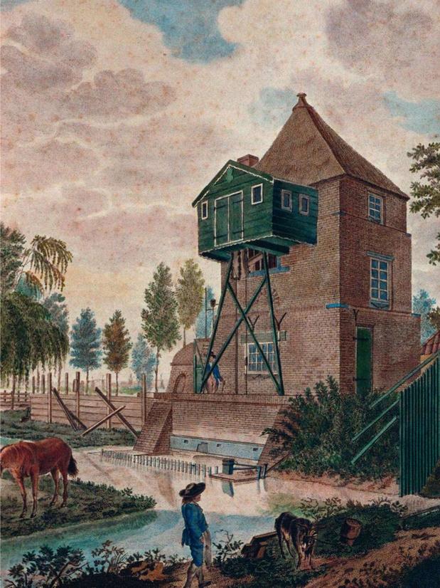 Het tijdperk van de stoommachine De patenten van James Watt