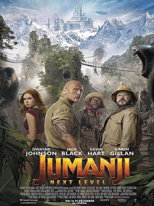 [Critique ciné] Jumanji: Next Level, sans surprise