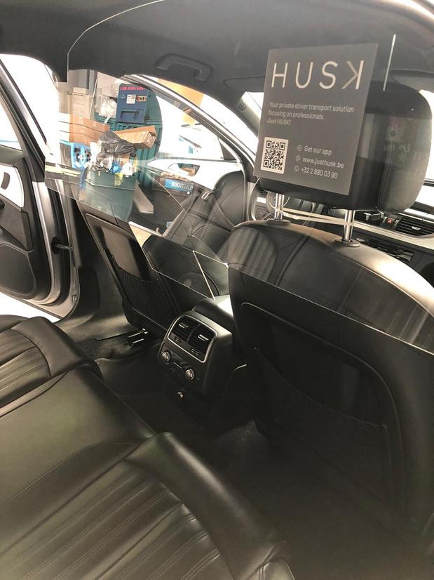 Husk, voitures avec chauffeur et plexiglas