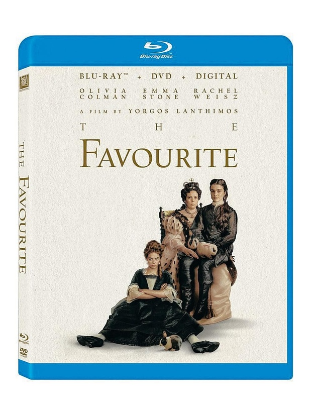 5x blu-ray The Favourite