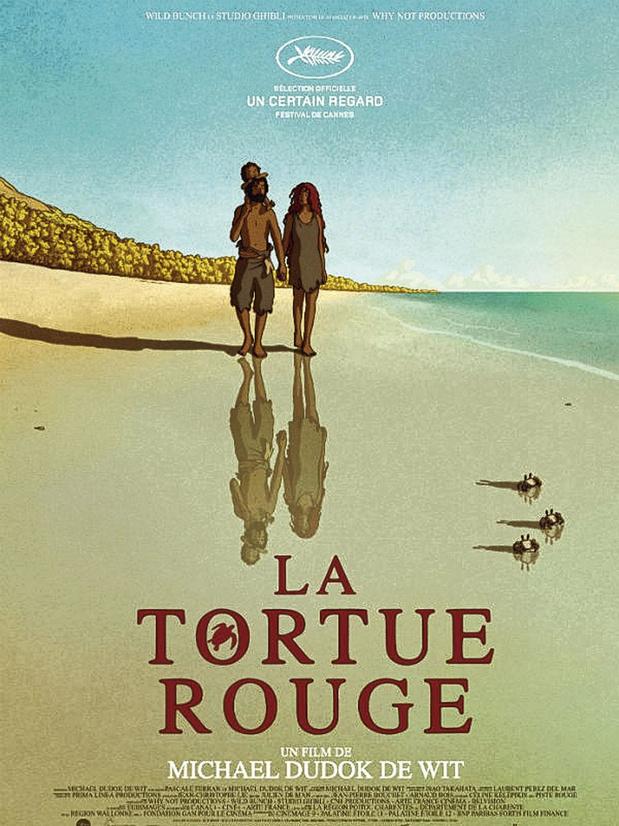 8/ La Tortue rouge De Michael Dudok de Wit (2017)
