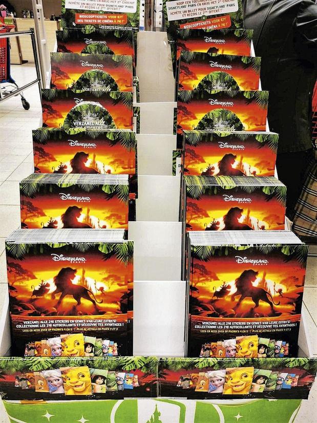 Carrefour stuwt zijn verkoop de hoogte in met verzamelalbum