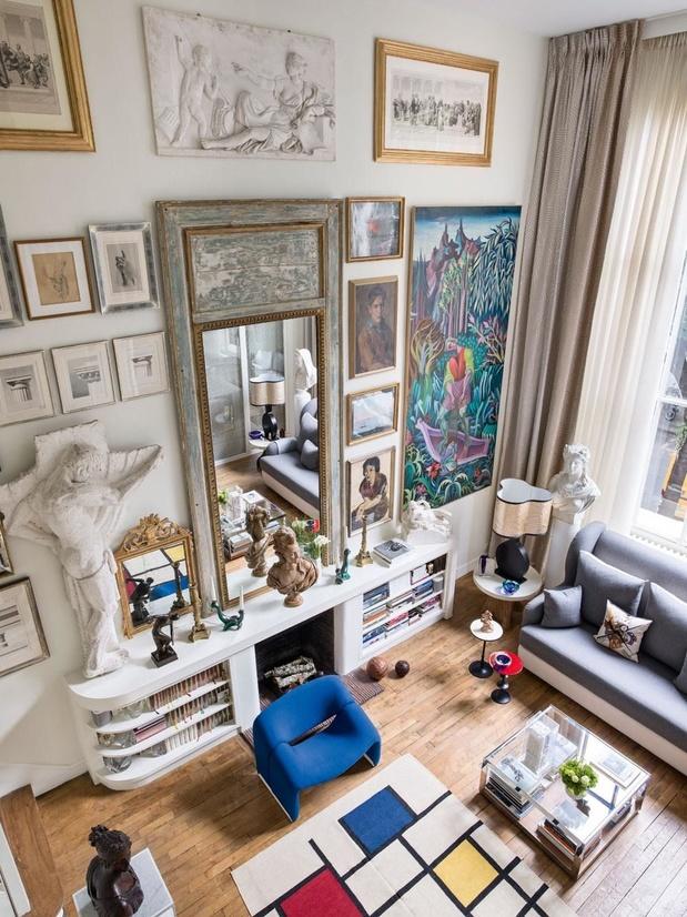 En images: un appartement loué, et malgré tout complètement transformé