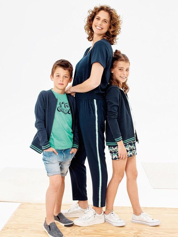 Sara De Paduwa (et ses enfants) signe une collection pour JBC