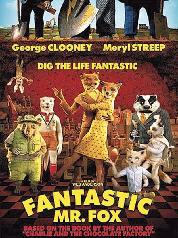 9/ Fantastic Mr. Fox De Wes Anderson (2010)