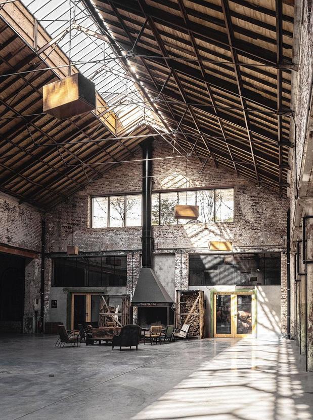 Le Grand Hall des Zaventem Ateliers, lieu d'émulation exceptionnel aux portes de Bruxelles