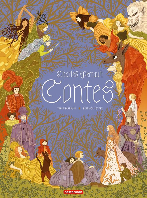 Les contes de Charles Perrault en bande dessinée