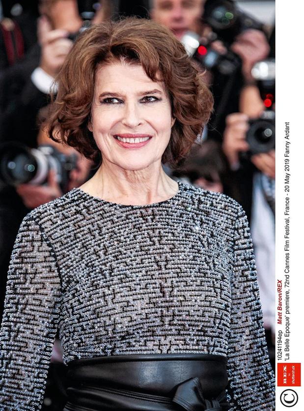 Fanny Ardant dans Madame Figaro