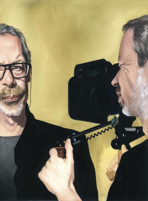 Frank van den Eeden, cameraman van 'De Patrick', wint Knack Focus Jo Röpcke Award 2019