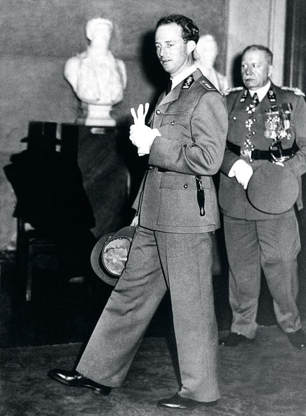 Le 12 avril 1939, le jour où Léopold III convoqua l'élite du Royaume
