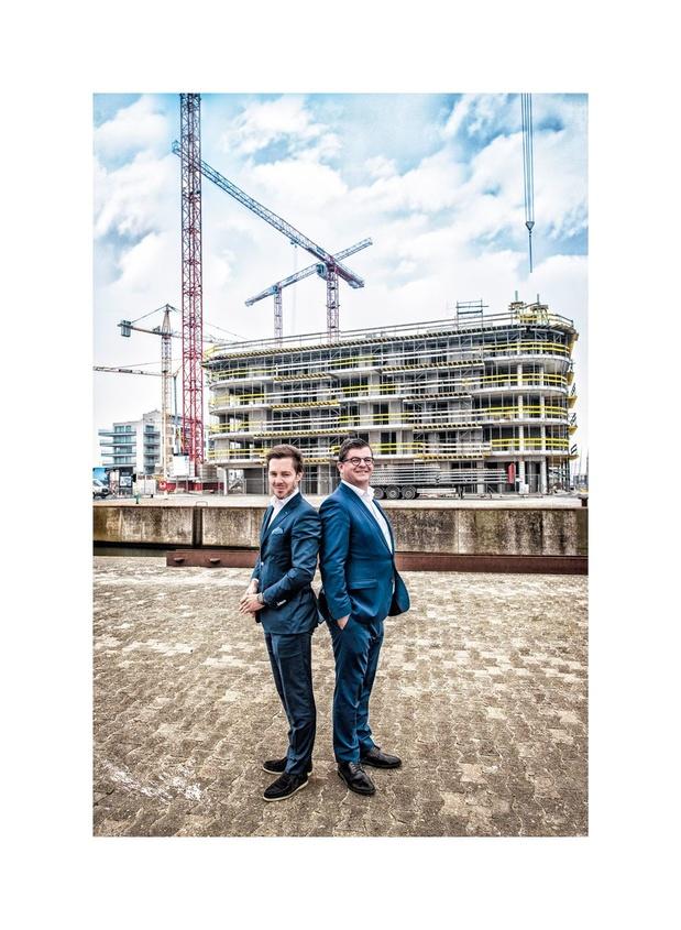 """Bart Tommelein (bourgmestre d'Ostende) et Bart Versluys (promoteur immobilier): """"Le tournant est amorcé à Ostende"""""""