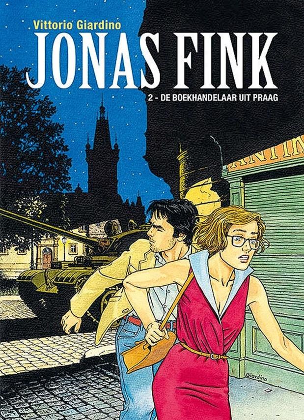 De boekhandelaar uit Praag (Jonas Fink 2)