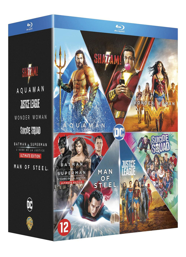DC Supercharged 7-Film Collection **