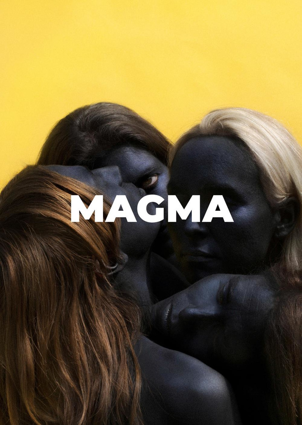 Magma, pop-up store volcanique